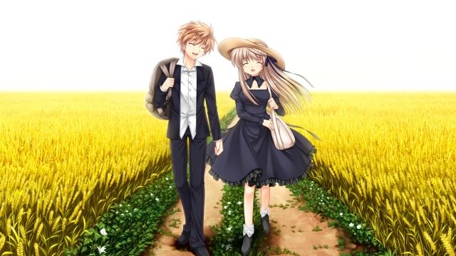 Akane and Kotarou Singing