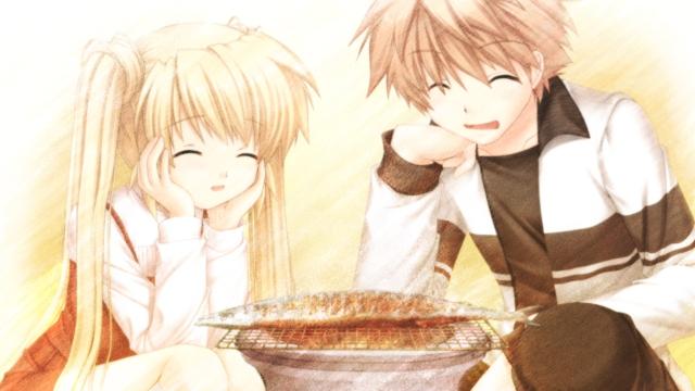 Shizuru and Kotarou
