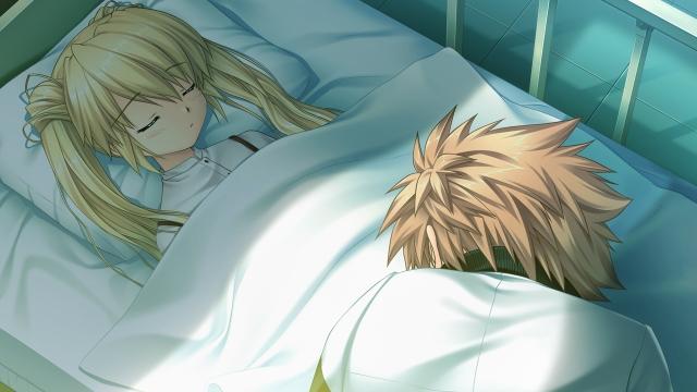 Shizuru Unconscious