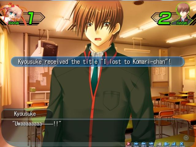 I lost to Komari-chan